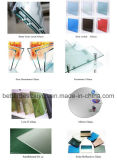 Guichet en aluminium de double oscillation en verre
