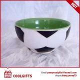 昇進のギフトのための内部カラーの浮彫りにされたフットボール陶磁器ボール