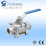 3PC Clamp End Ball Valve
