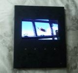7 cartolina d'auguri del giocatore caldo dell'affissione a cristalli liquidi MP4 di pollice video