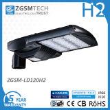 El módulo diseñó la luz de calle enumerada Dlc de la UL LED 120W con las virutas del LG del CREE y el programa piloto de Meanwell