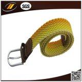 明るいカラー新しい方法ポリエステル男女兼用のための編みこみのSretchベルト