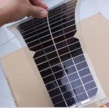 Фотоэлемент 18W Sunpower панели солнечных батарей высокой эффективности Semi гибкий