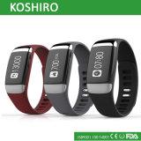 Отслежыватель деятельности при здоровья тарифа сердца OLED Bluetooth