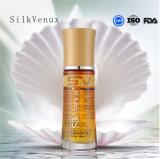 Escritura de la etiqueta privada de Venux del OEM de la fábrica del Argan del petróleo del suero de seda del pelo
