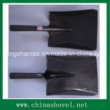 Shovel Railway Steel Square Shovel Spade pour l'élevage du jardinage Bâtiment
