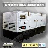 генератор 80kVA 50Hz звукоизоляционный тепловозный приведенный в действие Perkins (SDG80PS)