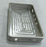 Peças de alumínio da maquinaria do CNC com sopro de Brushining&Sand