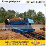 Ligne de lavage machine d'or entier de matériel
