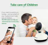 Do Web sem fio da segurança do monitor 720p WiFi do bebê câmara de vigilância do IP auto