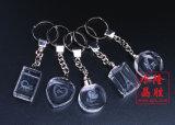Disegni differenti Keychain di cristallo per il ricordo