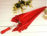 Qualitätskundenspezifisches gerades Inner-geformte Hochzeits-Geschenk-Regenschirme - Sy012