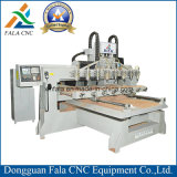 Máquina de gravura do Woodworking do CNC de quatro linhas centrais para o router do CNC
