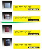 Rectángulo al aire libre del poste, caja de acero modificada para requisitos particulares del periódico