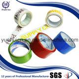 La insignia de encargo azul roja del color verde imprimió la cinta del embalaje