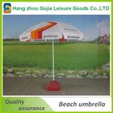240cmx8 K pliant le parapluie de plage extérieur de Sun