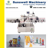 Machine van de Etikettering van de Lijm van de Smelting van de Flessen van het sap de Automatische Hete met het Etiket van pvc