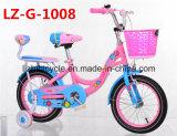 女の子および男の子のための公園の子供自転車かバイク