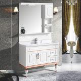 Module de vanité de salle de bains de PVC de mode de modèle neuf