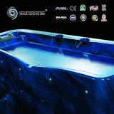 Nuevo jet de agua del masaje de la bañera del torbellino del diseño 2016 con el acrílico de Aristech