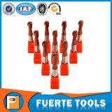 Moinho de extremidade de trituração do torno do CNC de 2 flautas para o multi uso