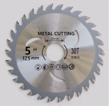 125mm*40t MetalかIron Cutting Tct Tungsten Carbide Circular Saw Blades