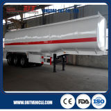 Steel inoxidable Diesel Petroleum Tank Semi Trailer à vendre
