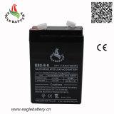6V 2.8ah wartungsfreie nachladbare Leitungskabel-Säure-Batterie für Warnung