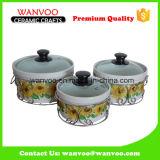 Una cottura di 7 pollici cuoce lo stampo per dolci rotondo antiaderante di ceramica
