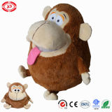 Jouet adorable de peluche de beau de ventre de gosses singe de Stuffers