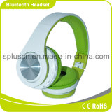 Green Color Stereo Bluetooth Headphones Support TF Card