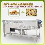 Type Superbe-Énorme spirale Washer&Peeler végétal, pommes de terre lavant, machine d'écaillement Lxtp-5000