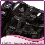 Remy peruviano Virgin Hair Flip in Hair Extension