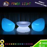 Beleuchtete LED-im Freiensofa-Möbel für Garten