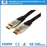 Cable plateado oro Zinc-Alloy superior de RoHS HDMI