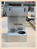 Cerco personalizado da máquina do café do aço inoxidável