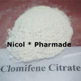 Citrato de Clomifene do pó da hormona do citrato de Clomifene (Clomid)