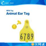 Tag de orelha animais do sistema de gestão Hitag1 RFID dos carneiros