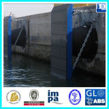 Defensa marina del caucho del cono del barco de la nave