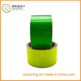 Collant de recouvrement r3fléchissant de PVC de véhicule de plaque minéralogique de film plastique transparent r3fléchissant auto-adhésif rond de feuille