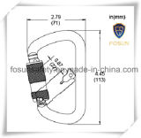 веревочка Carabiner талрепа безопасности предохранения от падения 45kn