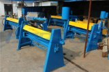 Máquina plegable 1.5m m x 2400m m del metal de hoja