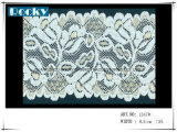 Alto rendimento la maggior parte della larghezza coreana popolare 18cm del testo fisso del merletto