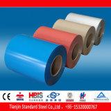 Azul Pastel revestido cor de Ral 5024 de aço da bobina de PPGI