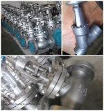 Válvula de puerta de levantamiento del vástago del acero de carbón del estruendo F5 con Ce
