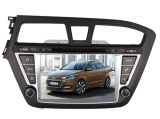 Vierfache Leitung Core Android 4.4.4 Car DVD Fit für Video-Player Hyundai-I20 GPS Navigation Radio Audio