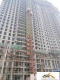 Pasajero de la construcción y alzamiento del elevador del material