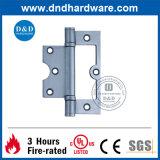 Les solides solubles vident la charnière pour la porte en métal