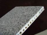 石はアルミニウム蜜蜂の巣のパネルの正面のパネルに直面した