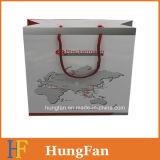 Bolso de compras de papel promocional modificado para requisitos particulares compañía